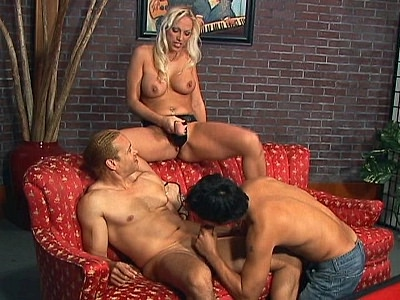 Luscious Nicki Hunter, Mercedes Ashley and Raquel DeVine will definitely put you in a hot mood with their sultry figures and huge assets brandishing them in front of horny bi-guy�s to seduce them into treating them with extremely hot bi-cock fucking.video
